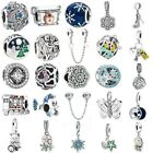 925 European sterling Pendant Silver Charms Bead For Bracelet Chain Necklace ic9