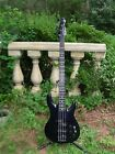 Dark Blue Peavey Dyna Unity Series Electric Bass Guitar Made in USA Neck Thru