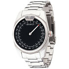 DETOMASO CLASSIC MAN 24h One Hand Mens Wrist Watch Silver 	Sapphire Glass New