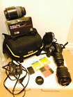 Nikon D D5000 123MP Digital SLR Camera Black Kit w AF S DX VR 18 55mm Lens