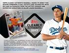 2017 TOPPS CLEARLY AUTHENTIC BASEBALL HOBBY BOX LOT 10 BOXES