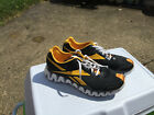 Reebok Zigs Pittsburgh Penguins Black and Gold Running Shoes Size 95