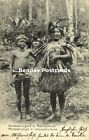 indonesia MENTAWEI MENTAWAI Native Youth in Traditional Costumes 1908