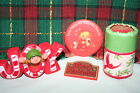 VINTAGE LOT OF HALLMARK ITEMS 1976 1978 NICE