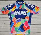 MAPEI SANTINI genuine HIGH QUALITY cycling COLORFUL JERSEY size XL