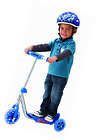 Razor Lil' Little Kick Toddler Kids 3 Wheel Skateboards Scooters Blue New