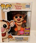 Tigger Flocked Winnie The Pooh 2017 Summer Convention Exclusive Funko Pop