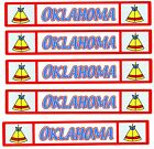 Travel TITLE STATE Scrapbook Stickers OKLAHOMA 5 Sheets