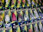STAR WARS GREEN POTF2 HOLOGRAM CARDED FIGURES ALL MOC SEE PHOTOS