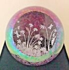 2017 Glass Eye Studio 3 inch Environmental Spring Meadows Paperweight 623