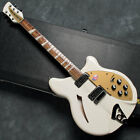 Free Shipping Used Rickenbacker Limited 360 SNG (Snowglo) Electric Guitar
