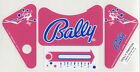 Bally Dolly Parton Pinball Machine APRON DECAL SET