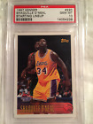 1997 SHAQUILLE O'NEAL TOPPS KENNER STARTING LINEUP CARD #220 GRADED PSA 10 POP 3