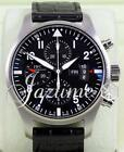 IWC Pilot Chronograph IW377701 Stainless Men's Black Auto BOX/PAPERS BRAND NEW