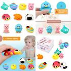 Langerza Toddler Bath Toys 10 PackSquirt Squeaker Toys With Bath Toy Organ