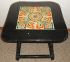 Vintage 1930's California Pottery Tile Top Table