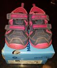 Stride Rite Made 2 Play Christiana Sandals Navy Pink Gym Shoe Sandals Size 9W