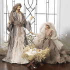 Raz Large Holy Family Christmas Nativity Set 3 Pieces 175 Inch Tall 3140230