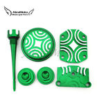 Green Engine Dress Up Kit Valve Cap Cover For 50cc 70 90cc 110cc 125cc Lifan YX