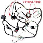 250cc 200cc QUAD FULL ELECTRICS CDI Magneto Coil Rectifier WIRE HARNESS Wiring