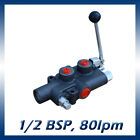 Hydraulic Log Splitter Lever Control Valve with Auto Kick Out 80l min