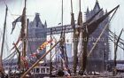 2 x A4 Thames Sailing Barge Photos - Silver Jubilee - 1977