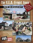FOS Scale ~ R.E.A. FREIGHT INSTRUCTIONS TEMPLATES SIGNS/PICS - Fine HO Miniature