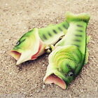 Sandals Tricky Simulation Fish Slippers Creative Beach Shoes Women Men Kid