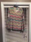 NWT Judith March Tunic Top Sz M Lined Stretchy 59