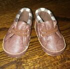 Baby Boys Girls Soft Sole Crib Shoes Warm Boots Booties Sneakers 3 6M Size 2