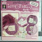 Love and Family Sarabooks Scrapbook