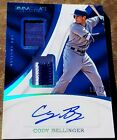 2017 IMMACULATE CODY BELLINGER RC DUAL 2 COLOR JERSEY AUTOGRAPH DODGERS AUTO 25
