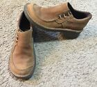 Womens Dr Martens Brown Slip On 2818 Shoes Size 6