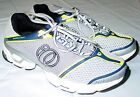 Mens Pearl iZumi Running Shoes US 7 EU 40 Silver Float IV Athletic Sneakers Mint