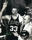 NBA Boston Celtics Larry Bird Autographed 16