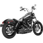 Magnaflow Black Riot 2 into 1 Exhaust for 2008 16 Harley Dyna FXDWG FXD