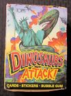 1988 Topps DINOSAURS ATTACK Trading Cards BOX ONLY VG+ 4.5