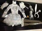 OOAK MS. RABBIT OUTFIT CUSTOM HAND MADE FOR RESIN SYBARITE SUPERDOLL SUPERFROCK