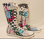 CUTE GIRLS 11 TALL CONVERSE ALL STAR CHUCK TAYLOR SHOES SIZE 4 GREAT CONDITION