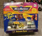 Micro Machines PRIVATE EYES COLLECTION Galoob 1989 car toy Set 1 NIP RARE