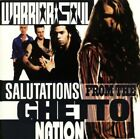 WARRIOR SOUL - SALUTATIONS FROM THE GHETTO NATION  CD - ROCK - 15 TRACKS - NEW+