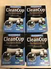 4 total boxes urnex Drip Coffee Maker Cleaning and Descaling Kit NEW