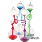 Colorful Office Thinking Hand Boiler Glass Science 2 PCS Green