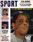 Willie Mays Autographed Signed Sport Magazine San Francisco Giants PSA DNA