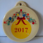 NEW Fiesta Merry Christmas 2017 Ornament New In Package 1st Quality Fiestaware