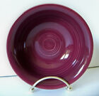 Fiesta RETIRED CLARET / New with Tags / Salsa Fruit Bowl 1st Quality Fiestaware