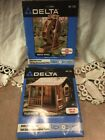 Delta Plan Series Full Size Woodworking Plans Water Wheel and Playhouse