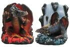 FIRE AND ICE DRAGON BOOKENDS GOTHIC FANTASY BEAUTIFUL  NEW IN THE BOX
