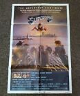 Superman II US 1981 original folded 27 by 41 one sheet movie poster in ex cond