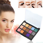 15 Colors Pro Eye Shadow Makeup Shimmer Matte Pigments Eyeshadow Palette Set HNG